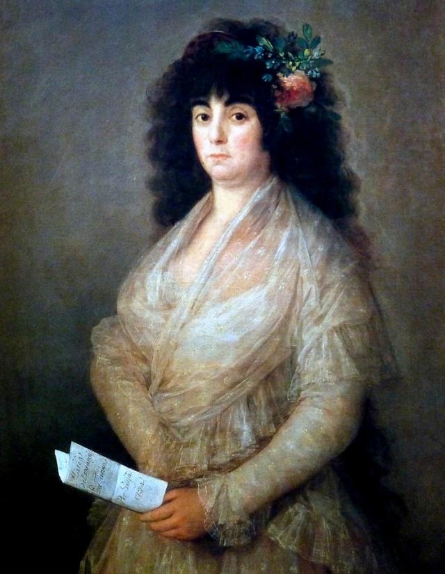 María del Rosario Fernandez La Tirana, Francisco de Goya, 1794