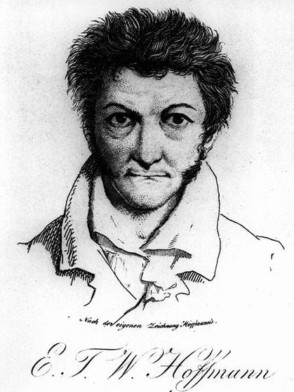 inv 6 _ E.T.A. Hoffmann, grabado según autorretrato
