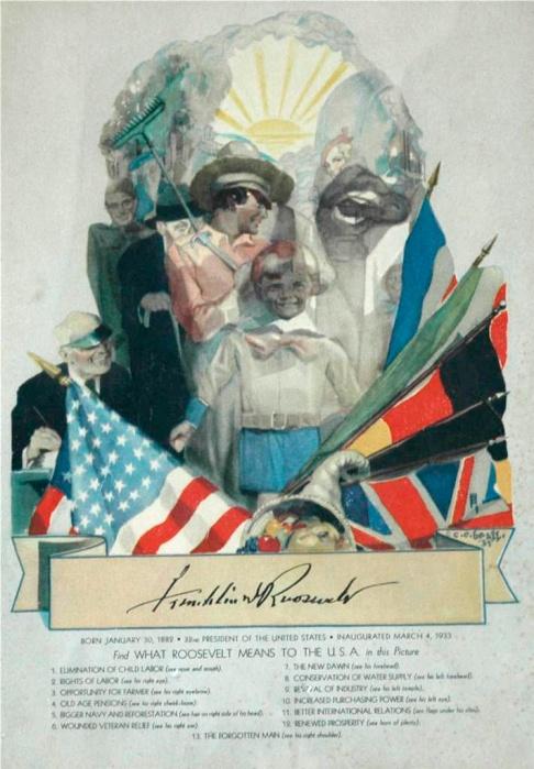 inv 11 Roosevelt, Cecil Calvert Beall