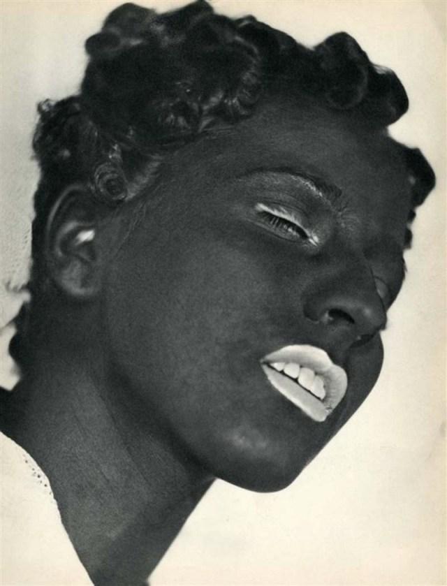 Negress, herbert matter, 1935